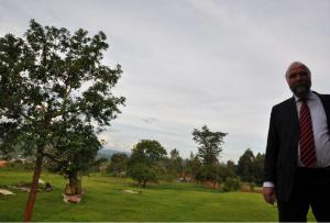 Ruanda Presidential Palace