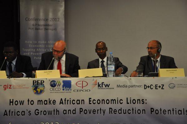 Günter Nooke Afrikabeauftragter Konferenzeroeffnung in Dakar