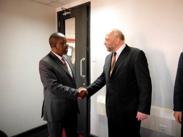 IKT_Minister Dr. Fred Matiangi and Afrikabeauftrager Günter Nooke
