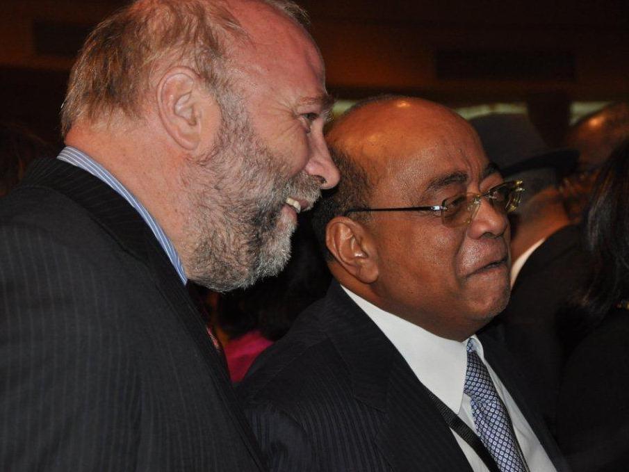 Günter Nooke und Mo Ibrahim