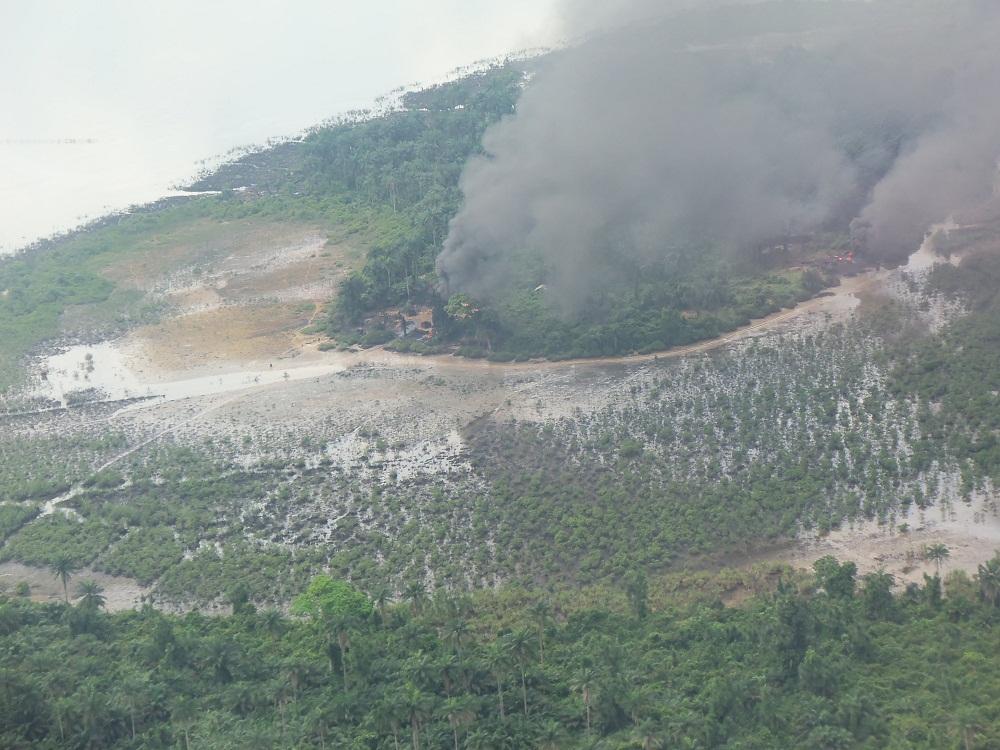 Ölverschmutzung nigerdelta