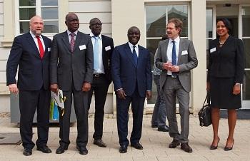 2013 Schirmherr Afrikabeauftragter Günter Nooke Ludwigsburger Afrikatage