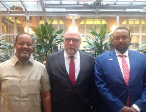 Treffen mit Bürgermeistern aus Somaliland