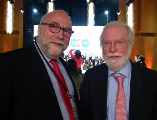 Bundeskanzlerin wirbt für Multilateralismus