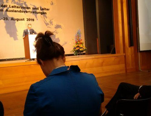 17. Konferenz der Leiterinnen und Leiter der deutschen Auslandsvertretungen vom 26.-28.08.2019 in Berlin