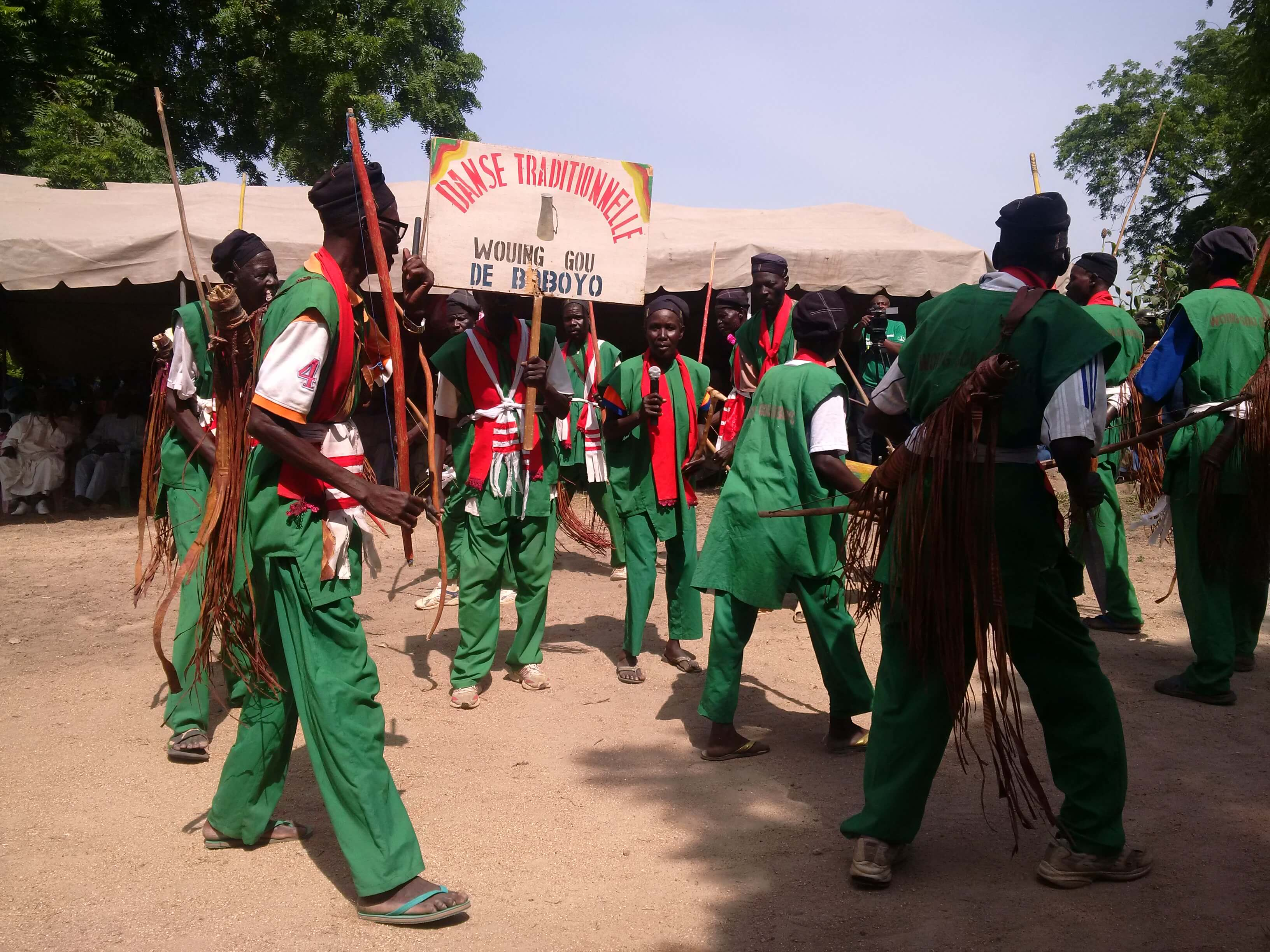 Nooke in Boboyo, Traditioneller Tanz, Extremer Norden Kamerun